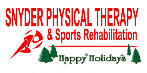 Happy Holidays from our family to yours!   ~ Snyder PT , ,