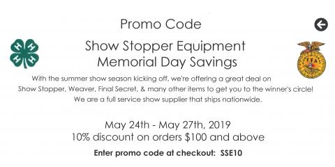 Memorial Day Savings!!, Seventy-Six, Iowa