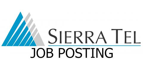 Job Opening: Universal Tech, Oakhurst, California
