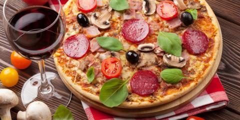 4 Mouthwatering Wine & Pizza Pairings, St. Petersburg, Florida