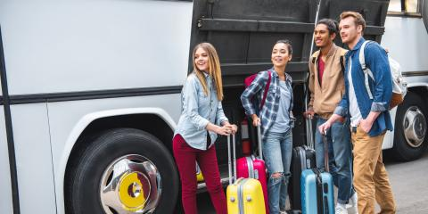 3 Ways to Make Your Luggage Easier to Find During a Bus Trip, Eagan, Minnesota