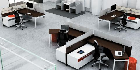 The Great Office Furniture Debate: High Panels v. Open Plan, Rahway, New Jersey
