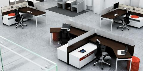Furnished Office Packages Make it Easy to Organize Workstations, Rahway, New Jersey