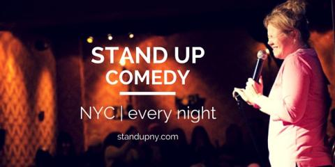The Best Comedy Club For a Summer Night Out, Manhattan, New York