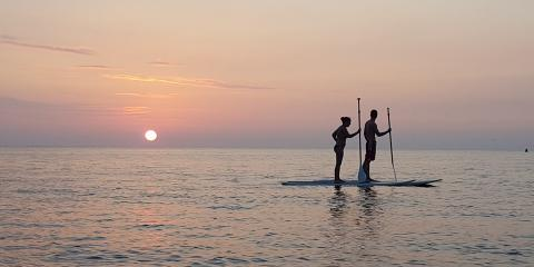 Stand-Up Paddleboards & Surfboards: How the Sports & Equipment Differ, Waialua, Hawaii
