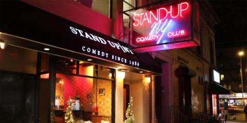 Stand Up Comedy's Biggest Names Frequent Stand Up NY, Manhattan, New York