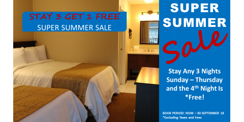 Super Summer Room Sale  Book 3 and get 1 Free, Richmond Hill, Georgia