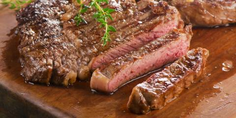 What Are the Differences Between Rare, Medium & Well-Done Steaks?, Russellville, Arkansas