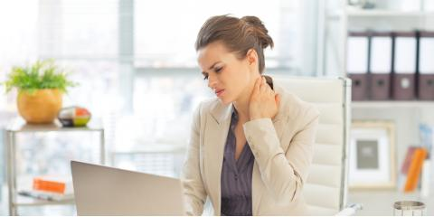 4 Ways to Reduce Back & Neck Pain at Work, Warsaw, New York