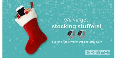 Great Stocking Stuffers -- Apple Watches BOGO 50% Off, Solon, Ohio