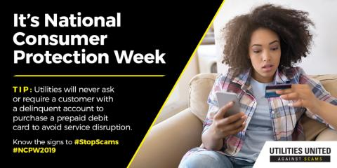 National Consumer Protection Week, Hernandez, New Mexico