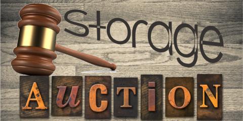 Self-Storage Auction List of Unit Inventories, Elyria, Ohio
