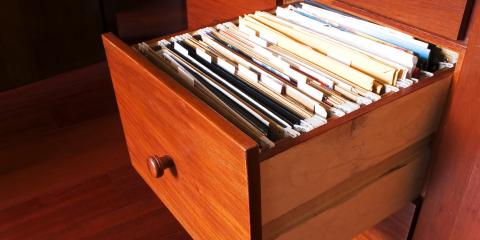 How to Safely Store Your Most Important Documents, Anchorage, Alaska
