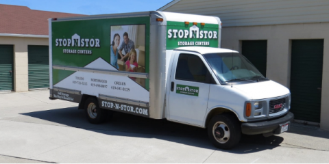 Free Use of Moving Truck & Driver with Self-Storage Rental, Lorain, Ohio
