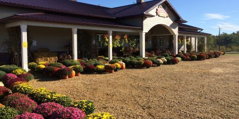 We updated Cranberry Country Market  driveway to asphalt!, Byron, Wisconsin