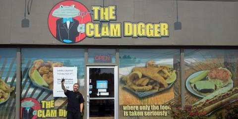 The Clam Digger, Seafood Restaurants, Restaurants and Food, Manchester, Connecticut