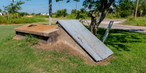 Above Ground vs. In-Ground Storm Shelters, West Plains, Missouri