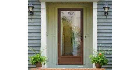 Storm Door Options You May Not Know About!, Newtown, Ohio