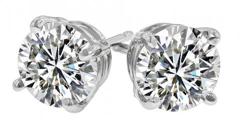 One Carat TW Diamond Stud Earrings for $799.00, Blue Ash, Ohio