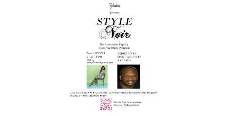 Vedazzling Accessories Presents New York Fashion Week's Style Noir , Brooklyn, New York