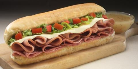 Feeling Hungry? Add a Hot Sub to Your Jet's Pizza Order, Liberty, Ohio