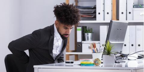 Suffer From Back Pain at the Office? 3 Tips to Attain Better Posture , Westphalia, Michigan