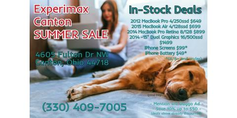 MacBook® Summer SALE!!, Canton, Ohio