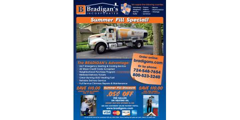 Summer Fill Heating Oil Special, Manor, Pennsylvania