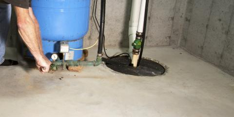 How to Test Your Sump Pump, Oconto Falls, Wisconsin