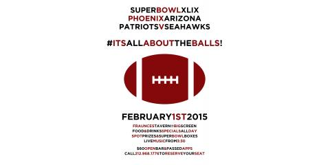 Celebrate The Super Bowl at Fraunces Tavern , Manhattan, New York