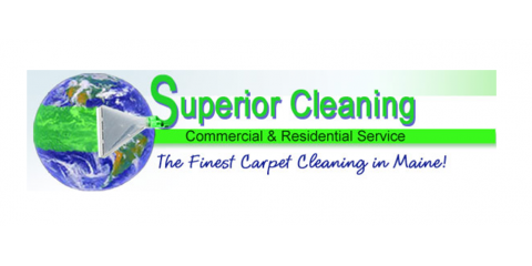 Superior Cleaning, Inc., Upholstery Cleaning, Services, Waldoboro, Maine