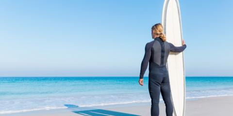 What to Wear When You Go Surfing, Santa Monica, California