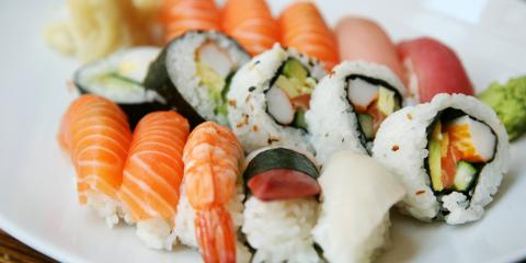 3 Most Popular Fish Types Used in Honolulu's Sushi Platters, Honolulu, Hawaii