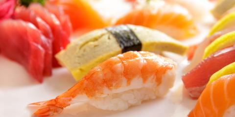4 Options You'll Find on Sushi Platters, Honolulu, Hawaii