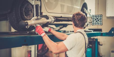 4 Signs Your Car Needs Suspension Repair, DeForest, Wisconsin