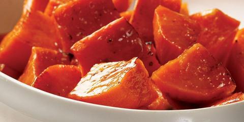 Maple-Roasted Sweet Potatoes, Groton, Massachusetts