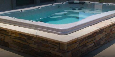 4 great perks of swim spas from hot tub outlet hot tub for Pool and spa show wa