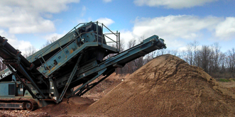 Syracusa Sand & Gravel Inc., Stone and Gravel Contracting, Services, Victor, New York