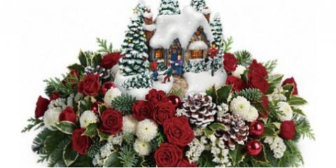 Ring in the Holiday Season With the Teleflora Christmas Flower Arrangement, Lexington-Fayette, Kentucky