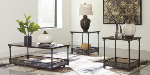COFFEE TABLE AND 2 END TABLES-KALMINSKI BY ASHLEY-$269, St. Louis, Missouri