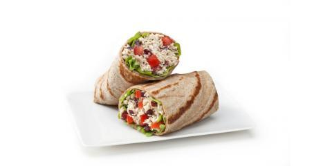 Satisfy Your Hunger Pangs With These Wraps From Tossed Sandwich Shop, Boston, Massachusetts