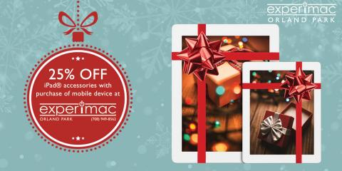 25% off iPad® Case With Purchase of Mobile Device, Orland Park, Illinois