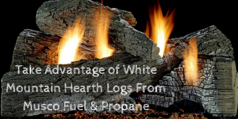 Take Advantage of White Mountain Hearth Logs From Musco Fuel & Propane, Wolcott, Connecticut