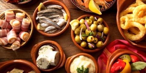 Enjoy Fresh Tapas & Delicious Springtime Wines For Happy Hour at Beans and Vines, Manhattan, New York