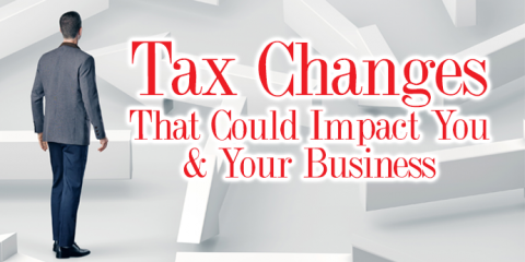 Tax Cut and Jobs Act Changes Affecting Businesses - Part 3, Greensboro, North Carolina