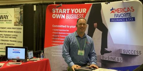 The AFI Team Attended the Franchise Show in Dallas! , San Antonio, Texas