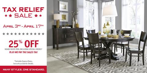 Tax Relief Sale, Lawrence, Indiana
