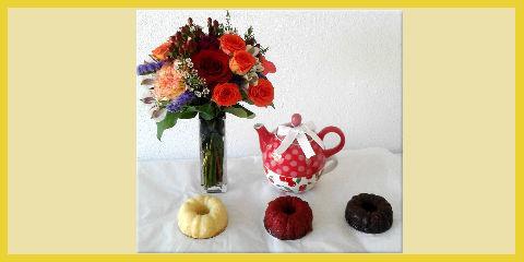 Free Gift Box With Every Teapot & Mini Pound Cake Gift Set, Xenia, Ohio