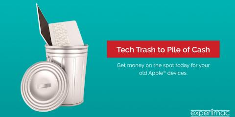 Sell your Apple gear for cash today at Experimac!, Bossier City, Louisiana