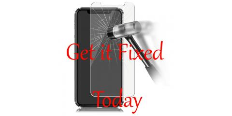 A coupon for You - Free Tempered Glass, with iPhone Repair, Northwest Harris, Texas